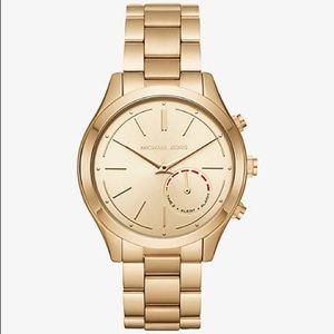 Michael Kors Hybrid Smart Gold Tone Watch